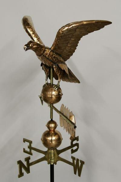 2036: 20th C. Eagle Weathervane