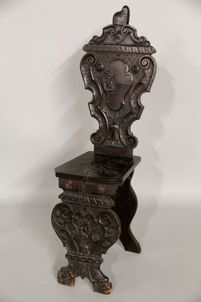 2039: 19th C. Italian Carved Chair