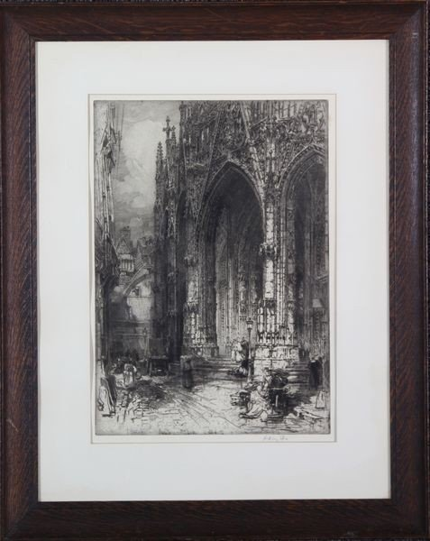 2040: Fitton, Cathedral, Etching