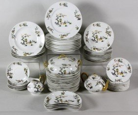 Set Of French Limoges Dishware