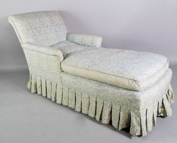 2053: Upholstered Chaise Lounge