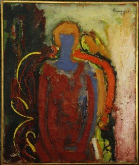 "De Groot, ""Woman In Chair"", O/C"