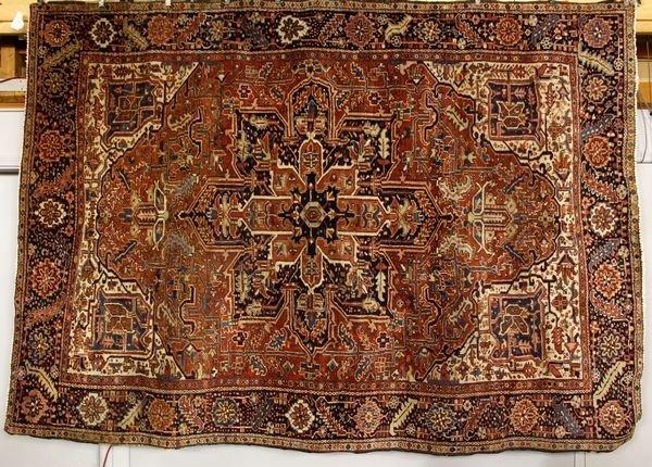 2109: Antique Heriz Rug