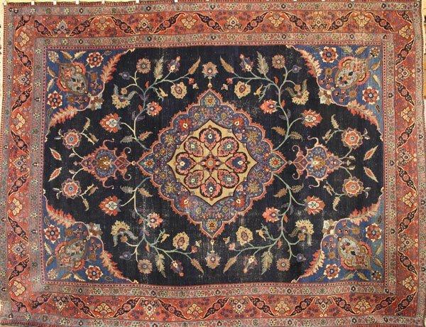2118: 19th C. Persian Heriz Carpet