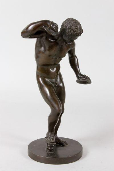 2303: 19th/20th C. Grand Tour Bronze Sculpture