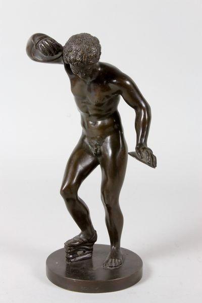 2303: 19th/20th C. Grand Tour Bronze Sculpture - 2