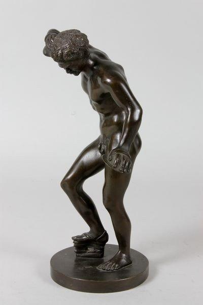 2303: 19th/20th C. Grand Tour Bronze Sculpture - 3
