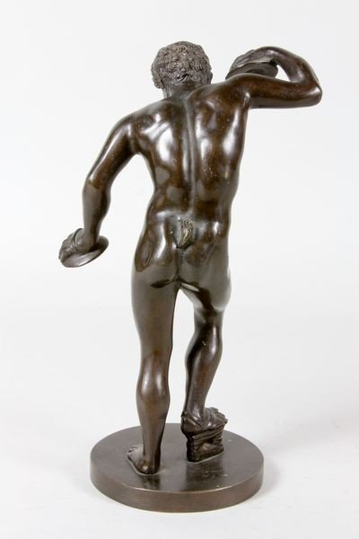 2303: 19th/20th C. Grand Tour Bronze Sculpture - 4