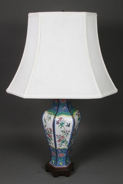 2014: Chinese Brass and Enamel Vase