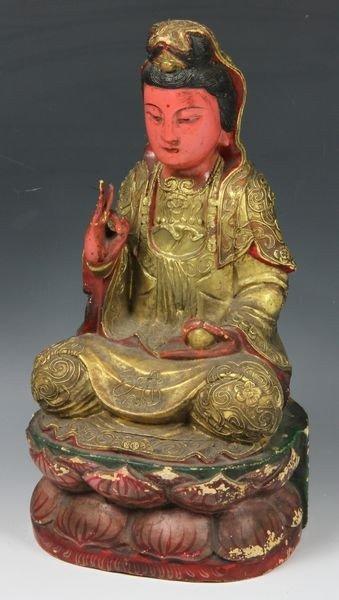 2046: Chinese 19th C. Guan Yin Figure