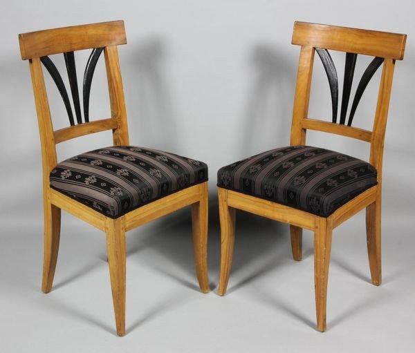 2056A: Pair of Biedermeier Chairs