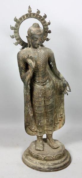 2101: Bronze Standing Buddha