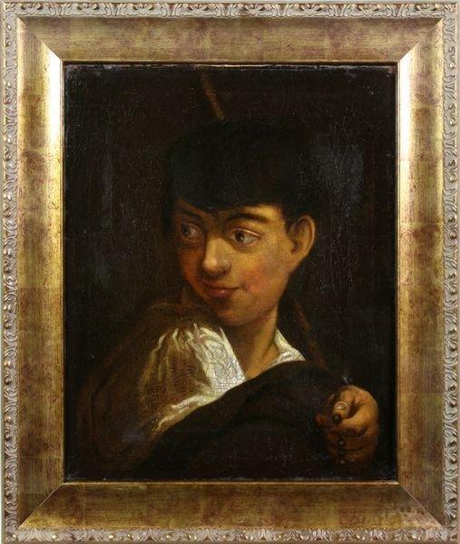 "2116: Verrio, ""Boy with the Rosary"", O/C"