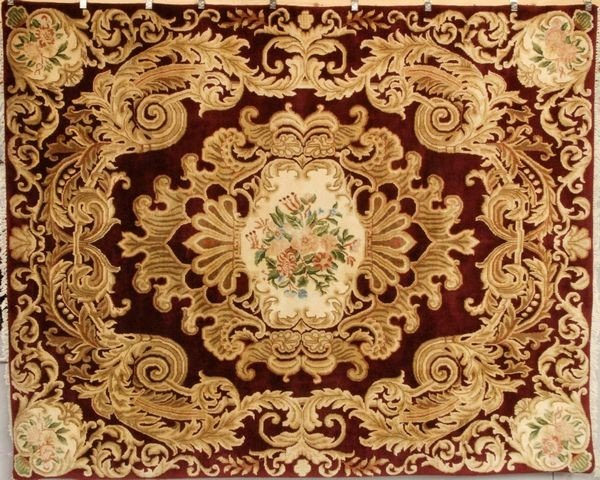 6046: Savanery Aubusson Rug