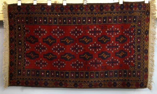 6077: Tribal Oriental Rug