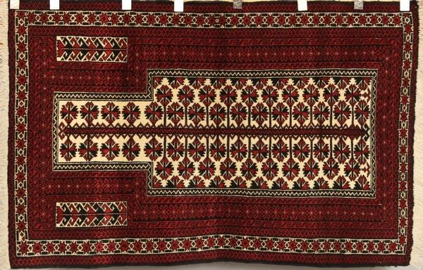 6078: Persian Balouch Rug