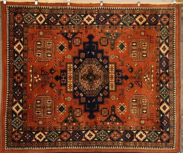 6081: Afghan Kazak Rug