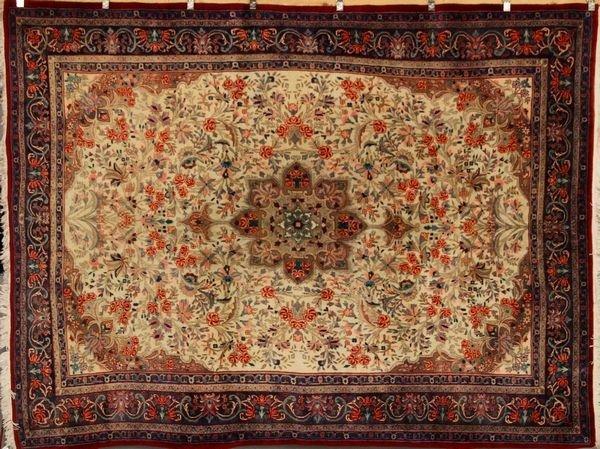 6084: Persian Bijar Rug
