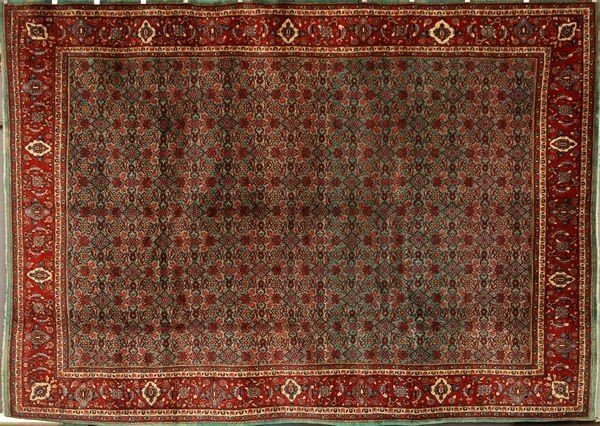 6085: Persian Bijar Rug