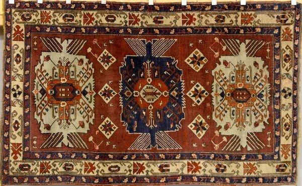 6094: Russian Kazak Rug