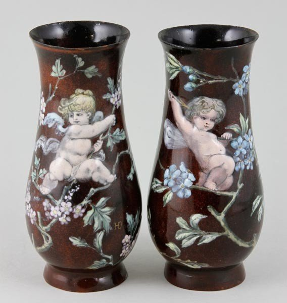 3012: Pair of French Vases
