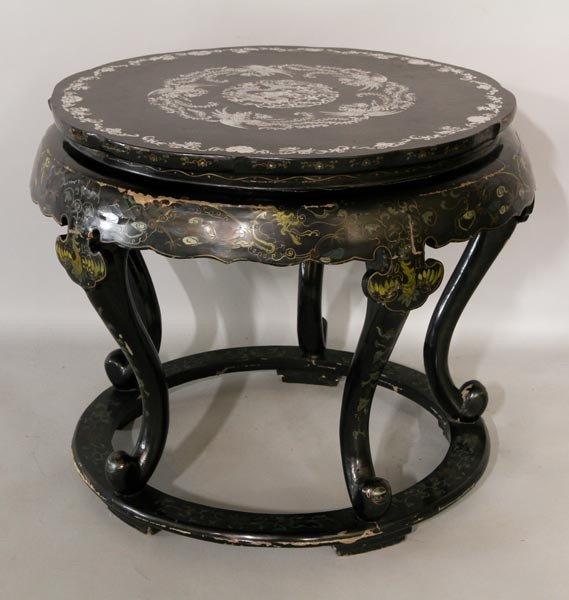 3015: Peking Lacquered Table