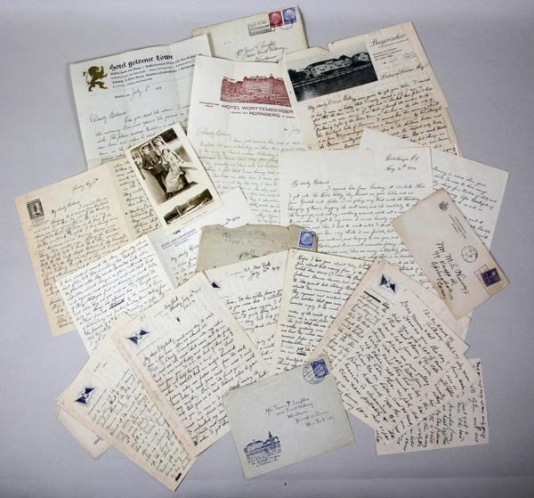 3017: Collection of Letters Describing Election of Hitl