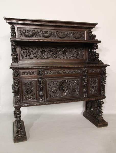 3020: 19th C. German Sideboard