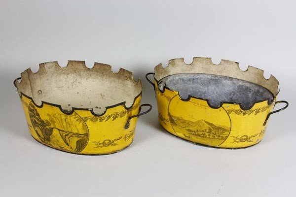 3045: Pair of 19th C. French Bowls