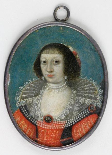 3053: Early Portrait Miniature on Copper