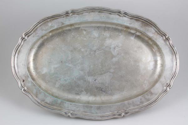 3060: Continental Silver Serving Tray