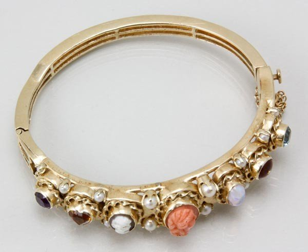 3061: 14K Yellow Gold Bracelet Set