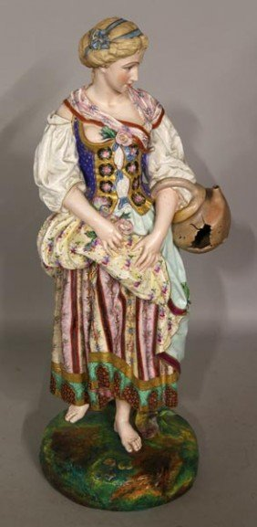 19th C. Bisque Figure