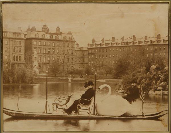 3528: Print of Swan Boat