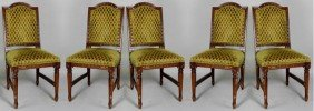 5 Regency Style Dining Chairs