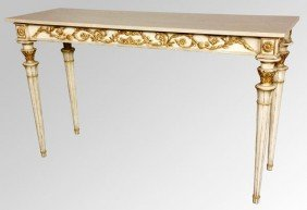 French Style Console Table
