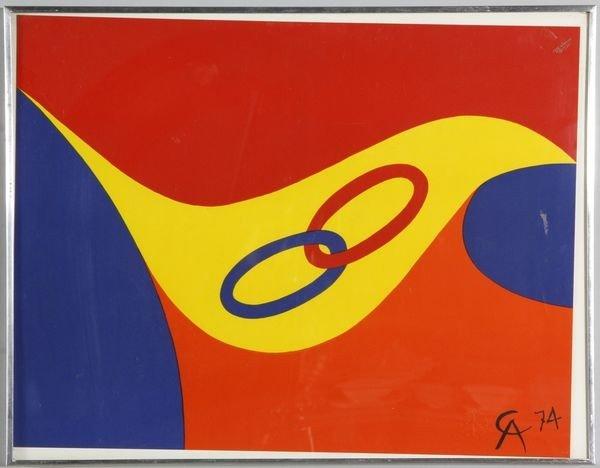 5006: Calder, Screen Print in 4 Colors