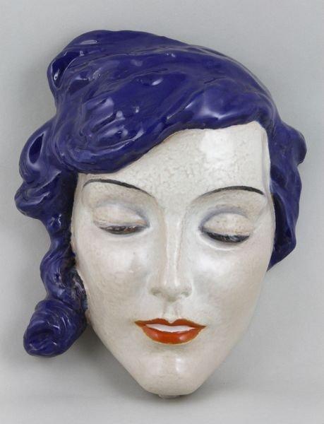 5017: Keramos Austria, Terra Cotta Mask
