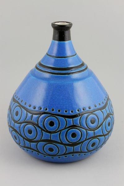 5021: Longwy Pottery Vase
