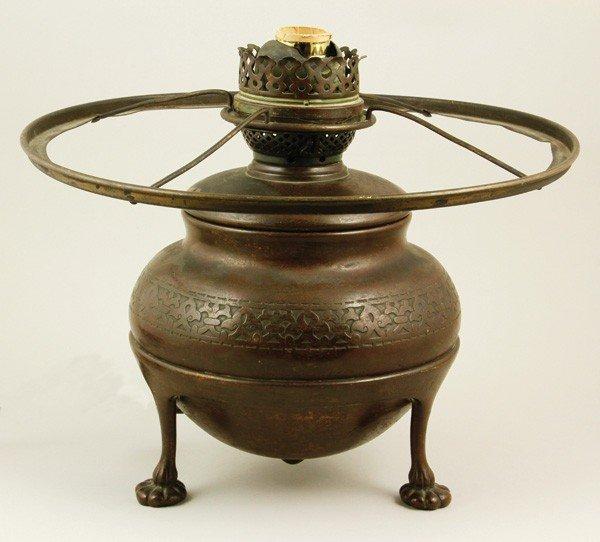 5040: 1902 Tiffany Studio Lamp Base