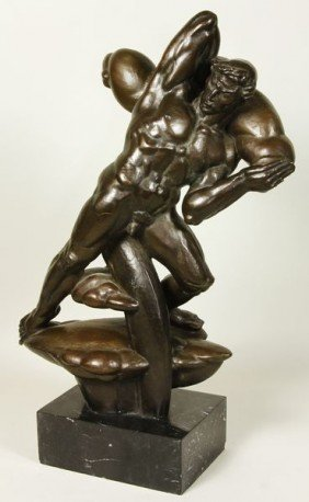 "Wein, ""Large Prometheus"", Bronze"