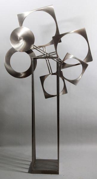 5118: 20th C. Stillman Steel Sculpture