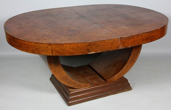 5118A: Art Deco Dining Table