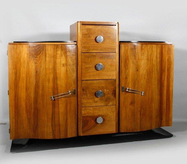 5132: 1925 Art Deco Cabinet