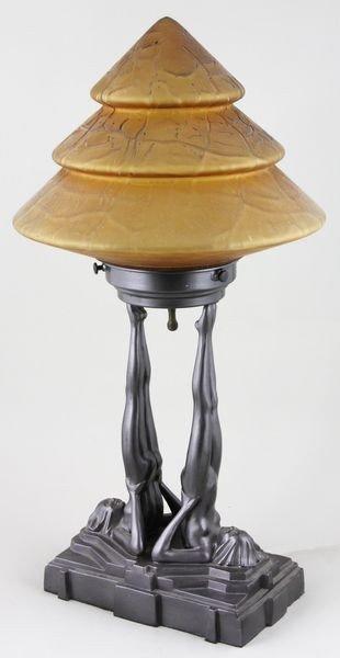 5133: Frankart Table Lamp