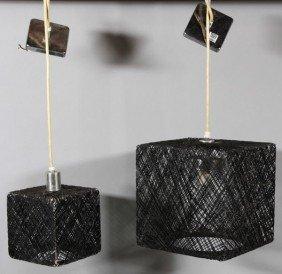 Pair Of Pendant Lamps