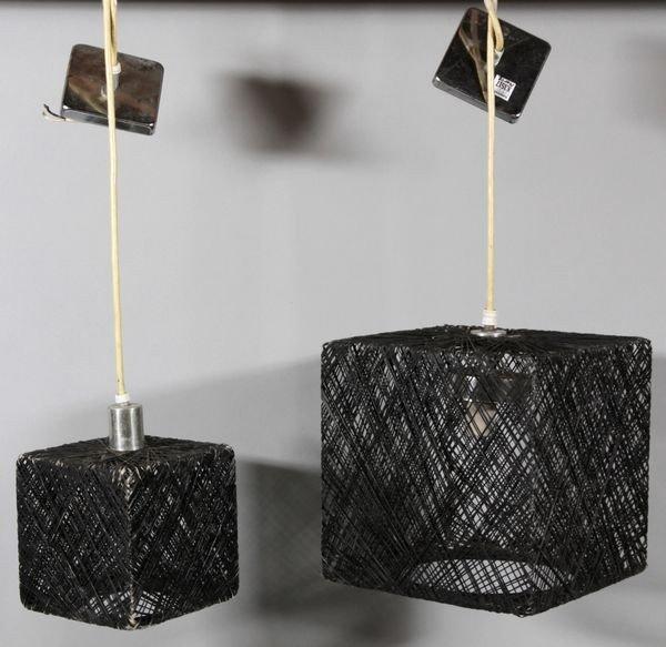 5149: Pair of Pendant Lamps