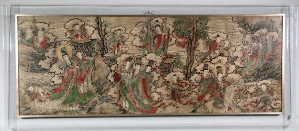 7073: Chinese Ming Dynasty Painting