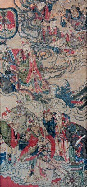 7075: Chinese 18th/19th C. Painting