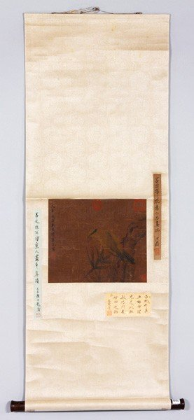 Chinese Antique Scroll Painting